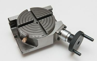 "4"" Inch Rotary Table Horizontal Vertical Use For Diy Machinists"
