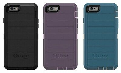 "New! Authentic OtterBox Defender For iPhone 6 & iPhone 6s 4.7"" Protective Case"