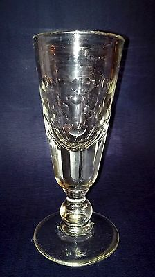 Grand Verre Bistrot Ancien Verre A Absinthe Souffle Taille 18Cm