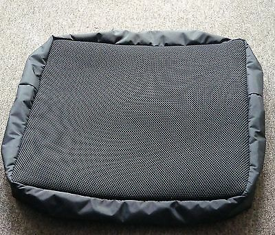 Wheelchair Cushion Cover Breathable Soft Black 3D Spacer Mesh