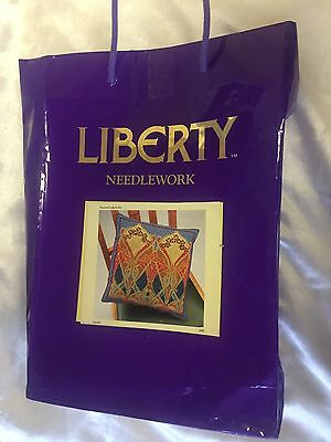"LIBERTY CUSHION TAPESTRY KIT  Lanthe DESIGN PERSIAN WOOL 19"" X 18.5"""