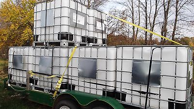 USED FOOD GRADE 275 gallon IBC Liquid Storage Totes - Potable Drinking Water