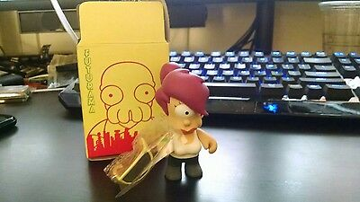 "NEW LEELA FUTURAMA KIDROBOT 3"" W/SUNGLASSES ~Series 1"