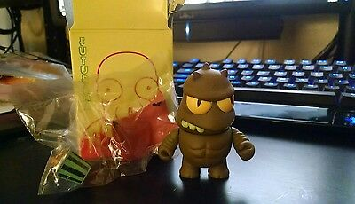 "NEW LRRR FUTURAMA KIDROBOT 3"" TALL W/CLOAK, POPPLERS ~Series 1"