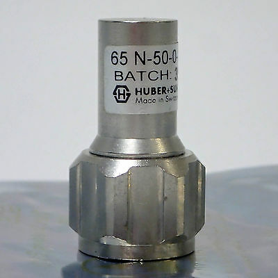 Suhner Agilent HP 20121-1314-00 SMA Male 18 Ghz 50 Ohm Short