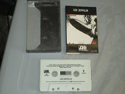 Led Zeppelin - Self Titled (Cassette, Tape) Working Great Tested