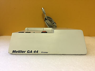 Mettler GA44 115 VAC, 60 Hz, 130 mA Thermal Printer. For AM / PM Series Balances