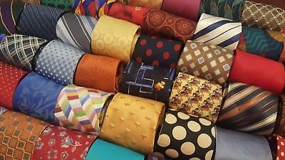 Lot 50 Pcs 100% Silk Neckties Dress Suit Neck Tie Quilt Craft Tie Free Shipping
