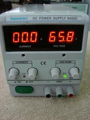 Xpower 6405D Variable Adjustable DC Power Supply 0-60V 0-64V 0-5A SMPS