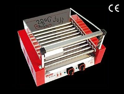 Commercial Hot Dog Broiler (11 Rods) Sausages Machine