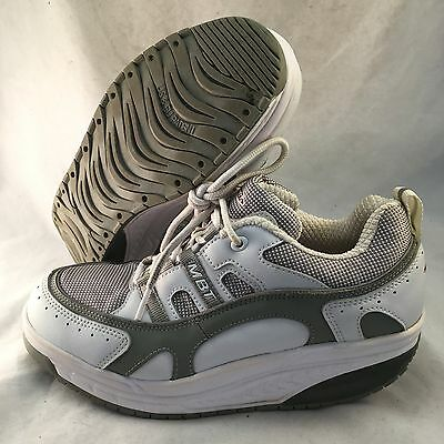 MBT Sport 02 - White Grey Synthetic - Women's Size 9-9.5 - Great