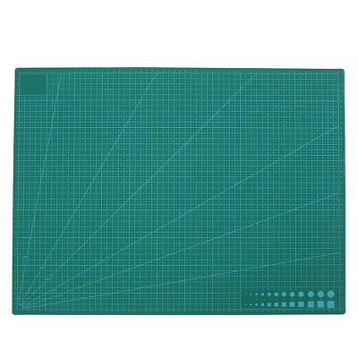 A2 Non Slip Cutting Craft Mat Board Self Healing Double Sided Printed Grid Lines