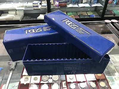 PCGS Plastic Storage Box for 20 Graded Slabbed Coins