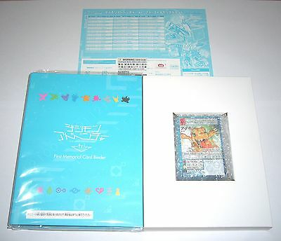 Premium Bandai Digimon Adventure Tri. Digital Monster 1st Memorial Card Game Set