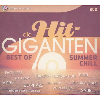 VARIOUS - Die Hit Giganten Best Of Chillout - (CD)