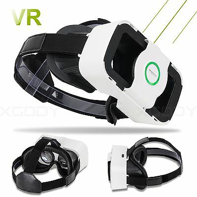 Virtual Reality VR SHINECON VR BOX 3D Glasses Movies Games For iPhone Samsung