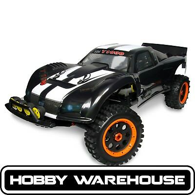 King Motor Baja T1000 Black 29cc 1/5 Scale 2WD HPI 5T Style RC Desert Truck