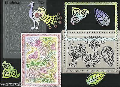 """Cuttlebug """"PERSIA"""" 1 x Metal Die and Embossing Folder Set  NEW - w/w Sizzix"""