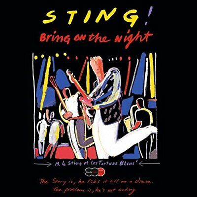 Bring On The Night (Sound & Vision) - Sting - Audio CD (S9p)