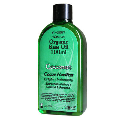 Coconut 100ml Organic Base Oil - distribuito da - Varallostore
