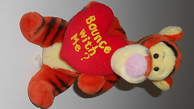 Disney Winnie the Pooh TIGGER Bounce with me SOFT PLUSH TOY