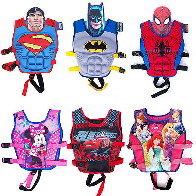 Cartoon Youth Children Universal Polyester Life Jacket Swimming Vest Kid Swiming