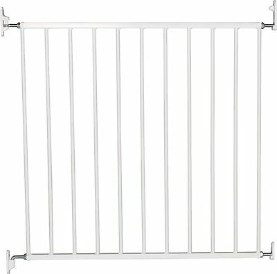 Extending Adjustable Metal Safety Gate Extra Wide Easy to Install Two Way Open
