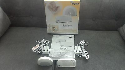 Tomy Digital SR200 Baby Monitor Rechargeable Boxed Instructions Ex Condition
