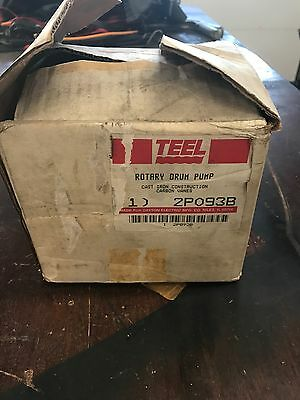 NOS New TEEL 2P093B Rotary Drum Pump