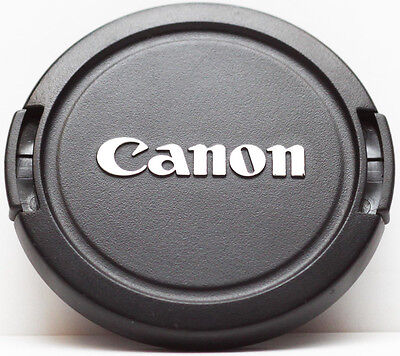 Canon 58mm 58 mm Front Lens Cap E-58mm Snap-on