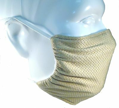 Beige Comfy Mask by Breathe Healthy. For Dust, Pollen & Allergy Relief