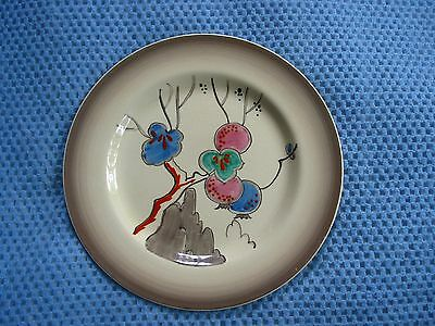 Large Clarice Cliff 1930s Art Deco Plate, Unknown Design?