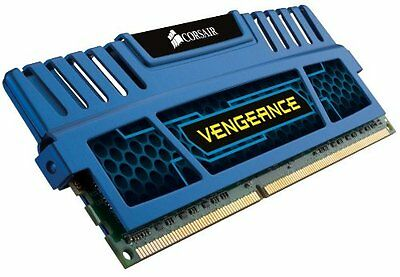 Corsair Simm Memoria RAM, DDR3, PC1600, 8GB, CL10 Ven, Nero (n4b)