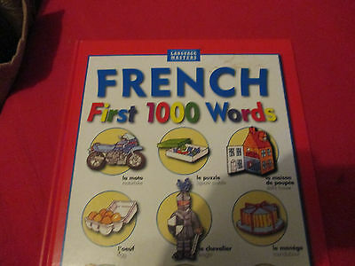 Language Masters. French First 1000 Words.  Learn French Book