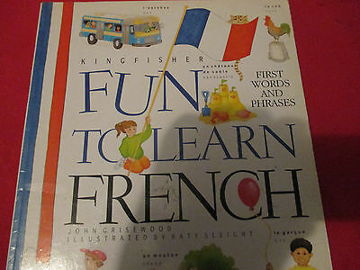 Kingfisher Fun to learn French Book. Learn French Book