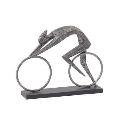 Abstract Cyclist Sculpture