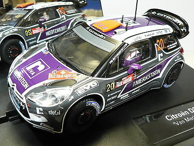 Carrera Evolution 27408 Citroen DS3 WRC Van Merksteijn NEW