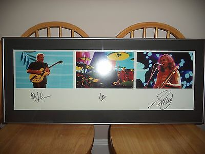 Rush - Signed By Peart, Lee, Lifeson - Beautiful!! #27/500