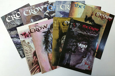 The Crow Image Comic Book Lot of 10 Comics Issues #1-10