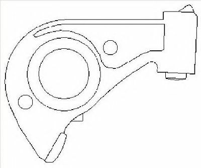 RENAULT MASTER 2.5D Hydraulic Tappet / Lifter 01 to 06 Cam Follower 8200009982