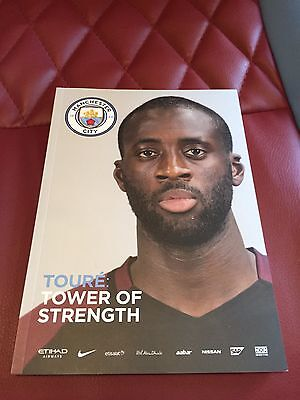 Manchester City V Manchester United 2017 Premier League Football Programme