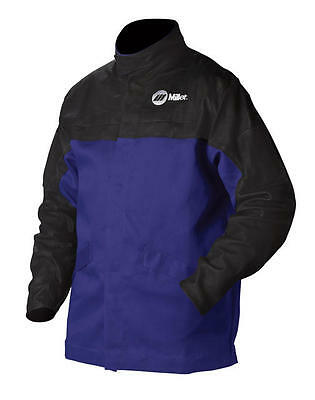Miller 231082 Arc Armor Cloth & Leather Combo Jacket - Large Size - New