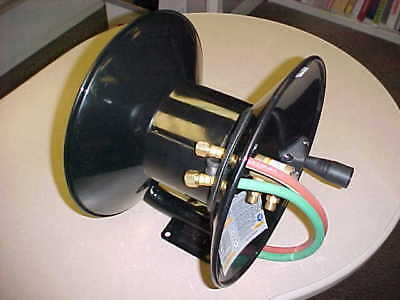 Welding Hose Reel - 100' capacity with mounting bracket - NEW - manual style