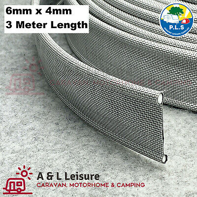 Keder / Kador Gusset - Double Sided Awning Beading Strip 6mm x 4mm