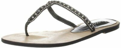 TG 36 EU Unze Evening Slippers Sandali donna Nero Schwarz w0I