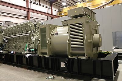 General Electric Diesel Engine-Generator Units  3.8 MW Prime Power