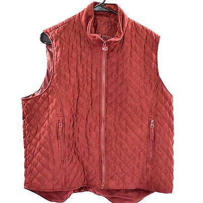 Used Outback Trading Co. Riding Vest - Red - Sz 1 X #78768