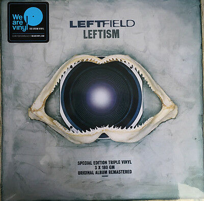 "Leftfield "" Leftism "" New Sealed 3 X 180 Gram Vinyl Set Remastered / + Download"