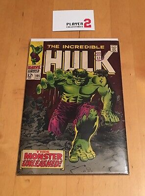 Marvel Comics - The Incredible Hulk # 105 (1968), This Monster Unleashed!