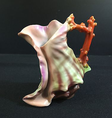 German Creamer--Shell / Nautical-Lovely Piece of Artwork-Excellent--BUY IT NOW